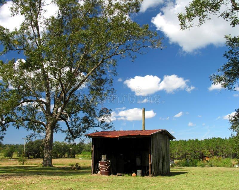 Download Bauernhof-Halle stockfoto. Bild von halle, pekannuß, rustic - 33882