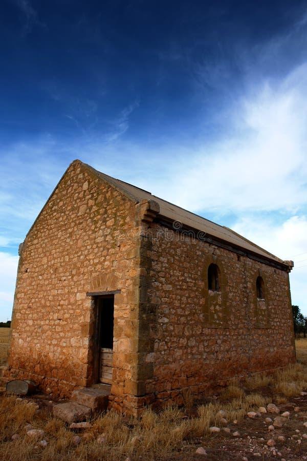 Bauernhof-Ruinen stockfoto