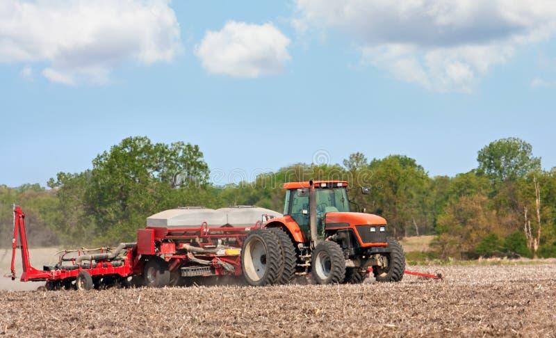 Bauernhof-Traktor stockbild