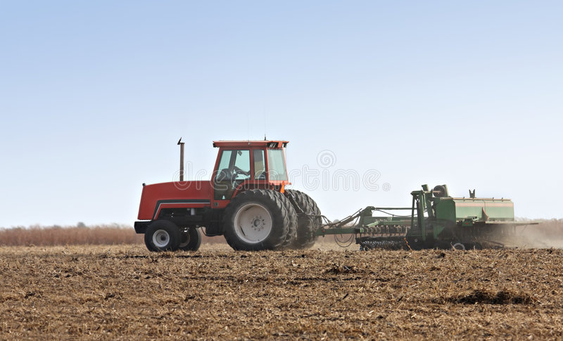Bauernhof-Traktor lizenzfreies stockbild