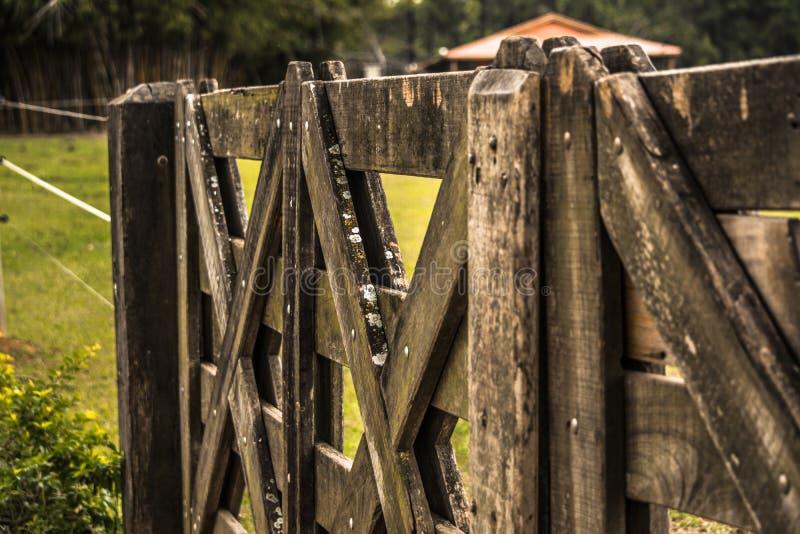 Bauernhof-Zaun lizenzfreies stockbild