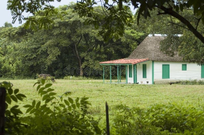 Bauernhofhaus stockbilder