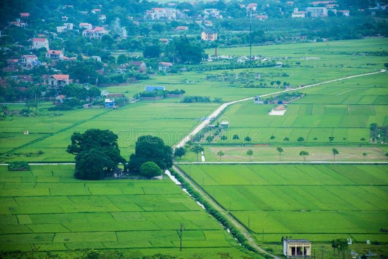 Bauernhofshow von Tram moutains stockbild