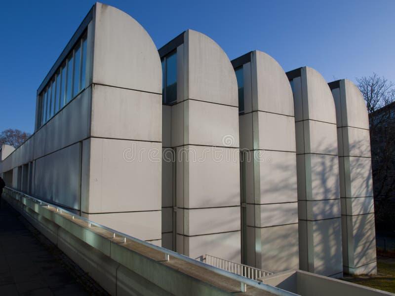 Bauhaus in Berlijn stock afbeeldingen