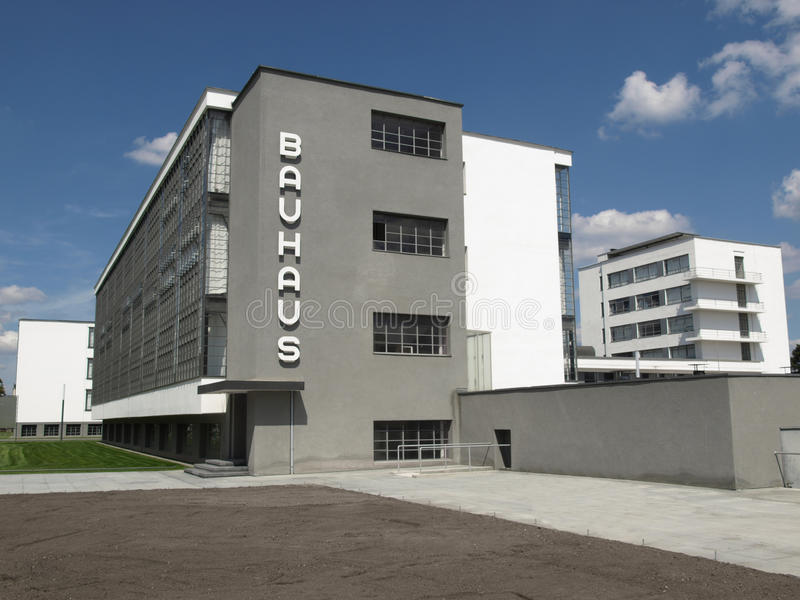 Bauhaus, Dessau stock foto's