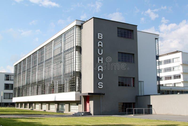 Bauhaus Dessau foto de archivo