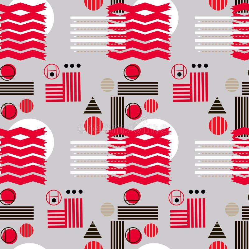 Bauhaus pattern3 ilustração do vetor