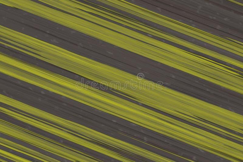 Bauhintergrundgelbschrägstreifen-Wandstein 3d übertragen lizenzfreies stockbild
