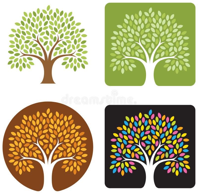 Baum-Abbildung vektor abbildung