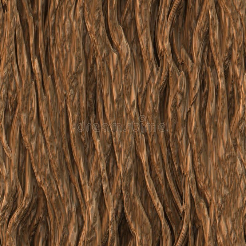 Baum-Barke-Beschaffenheit lizenzfreie abbildung