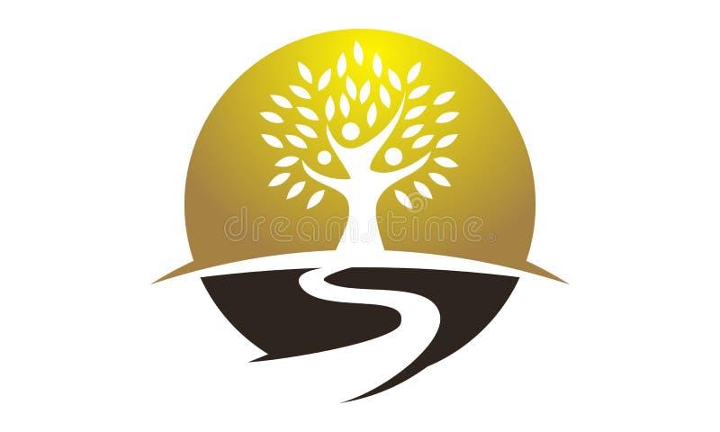 Baum des Erfolgs lizenzfreie abbildung