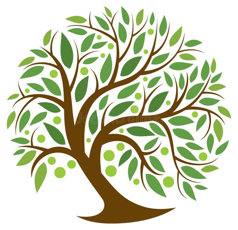Baum des Lebens lizenzfreie abbildung