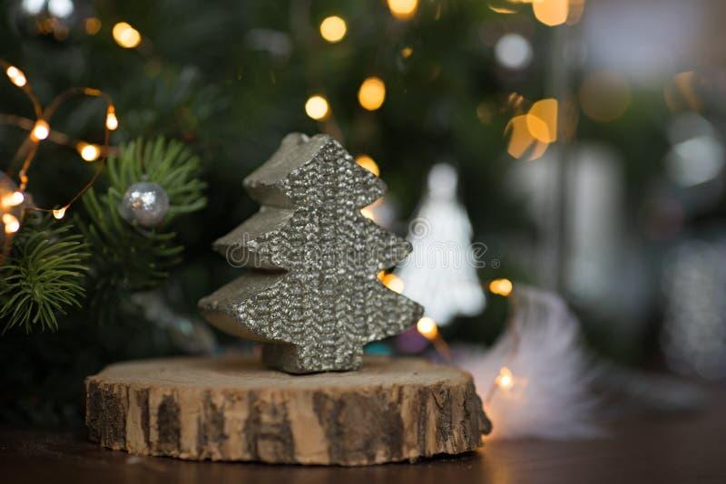 Baum des neuen Jahres lizenzfreies stockfoto