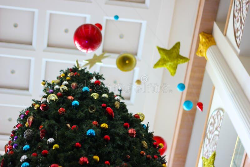 Baum des neuen Jahres lizenzfreies stockbild