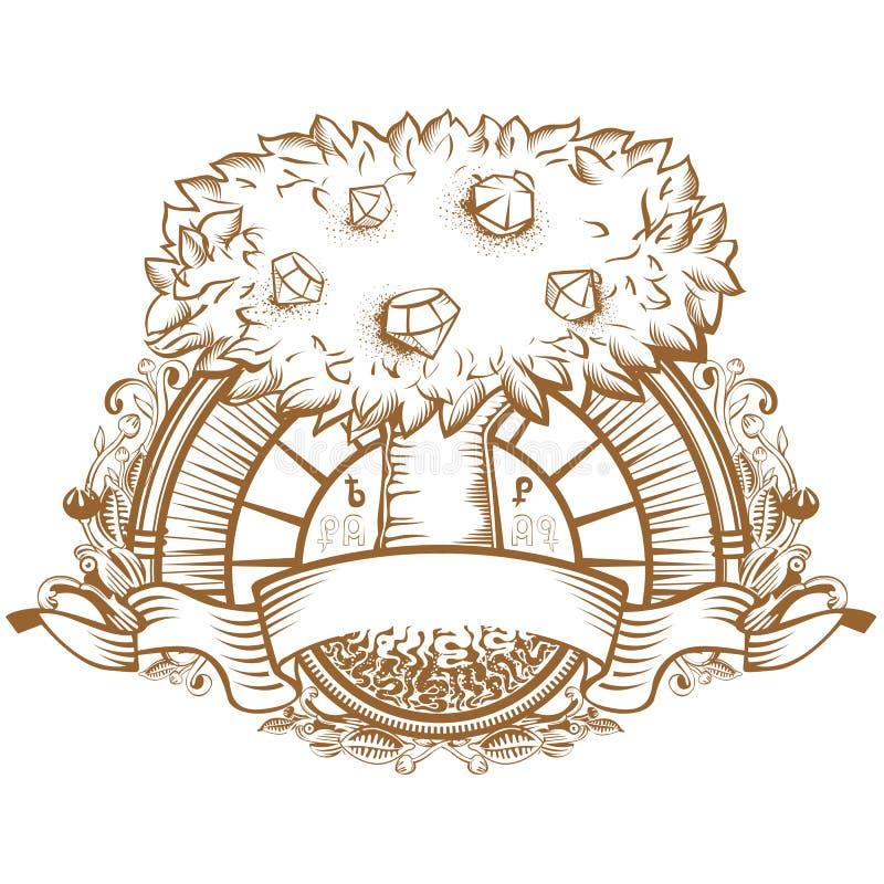 Baum des Schatzes lizenzfreies stockfoto