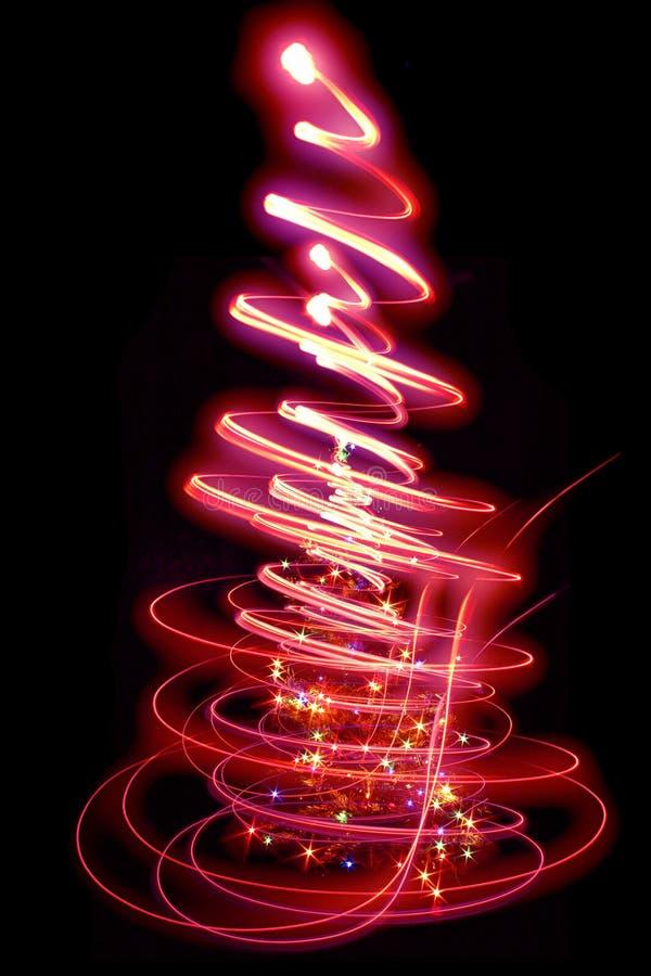 Baum des Weihnachten (Weihnachten) stock abbildung