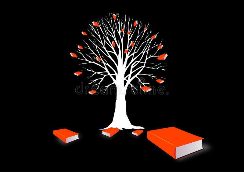 Baum des Wissens   stock abbildung