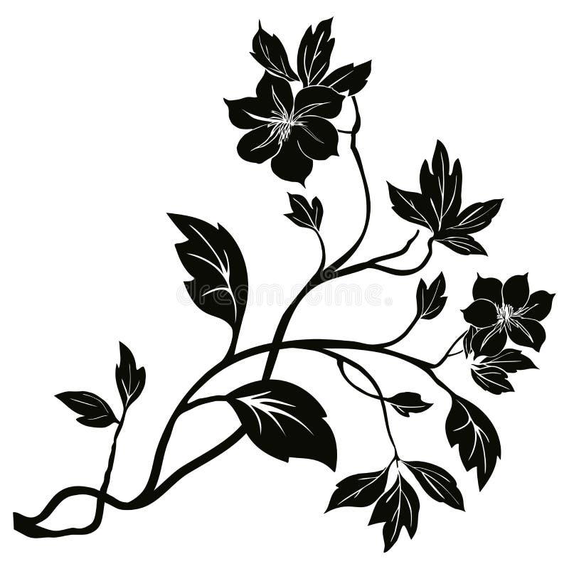 Baum im Frühjahr vektor abbildung
