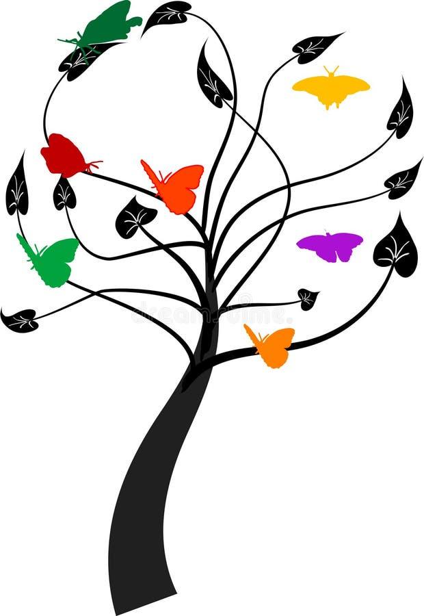Baum mit Basisrecheneinheiten stock abbildung