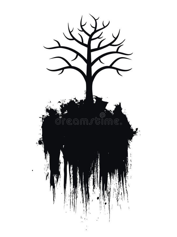 Baum (Vektor) lizenzfreie abbildung