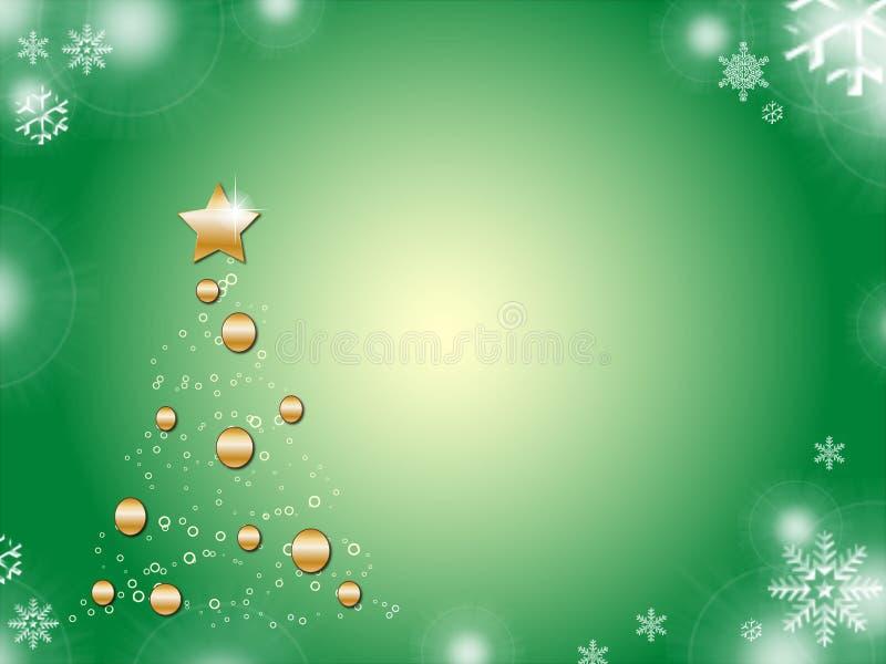 Baum-Weihnachten stock abbildung