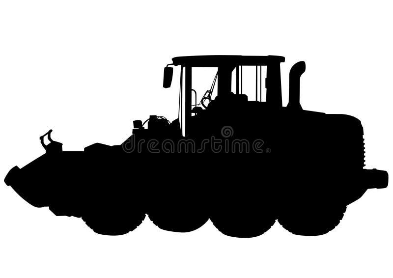 Baumaschinen sechs lizenzfreie abbildung