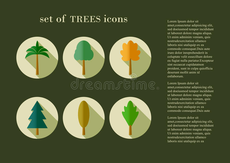 Baumbeschaffenheit vektor abbildung