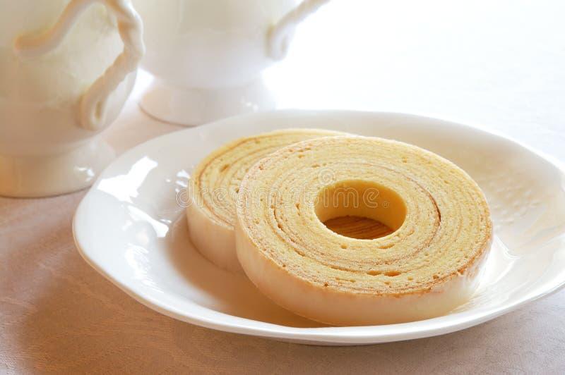 Baumkuchen image stock
