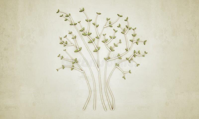 Baumsymbol lizenzfreie abbildung