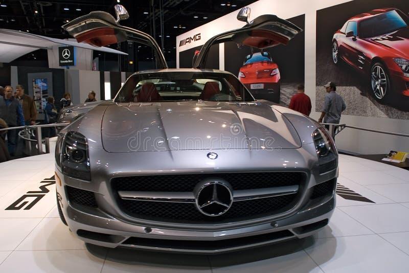 Baumuster 2010 Mercedes-AMG stockbilder
