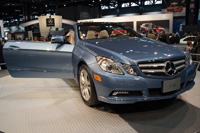 Baumuster 2010 Mercedes-E350 lizenzfreie stockbilder