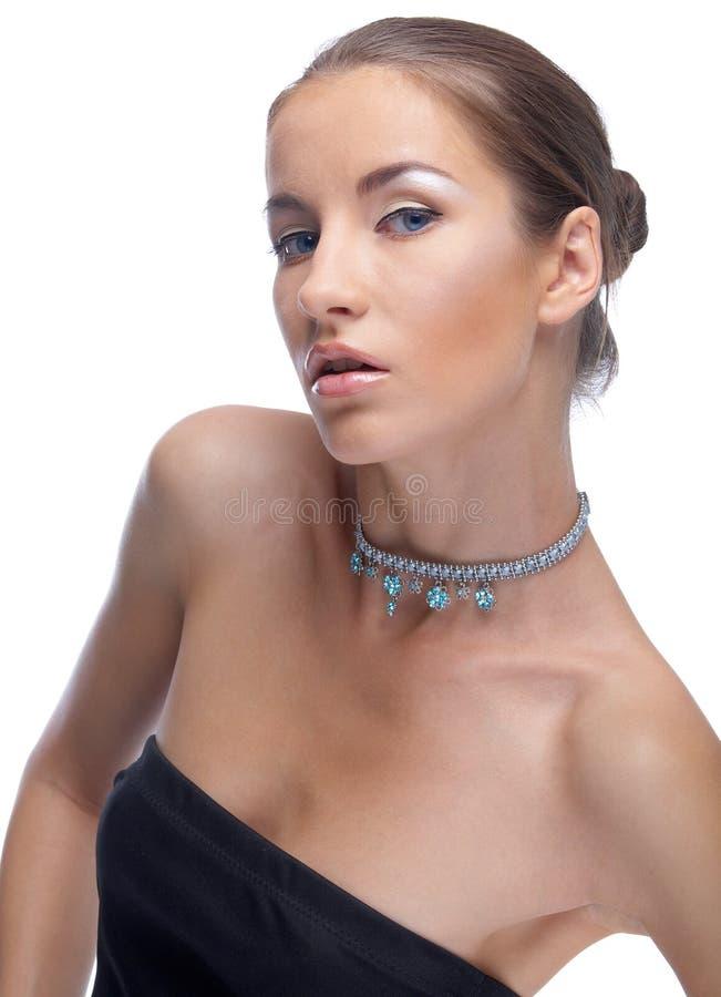 Baumuster in der Halskette lizenzfreies stockbild