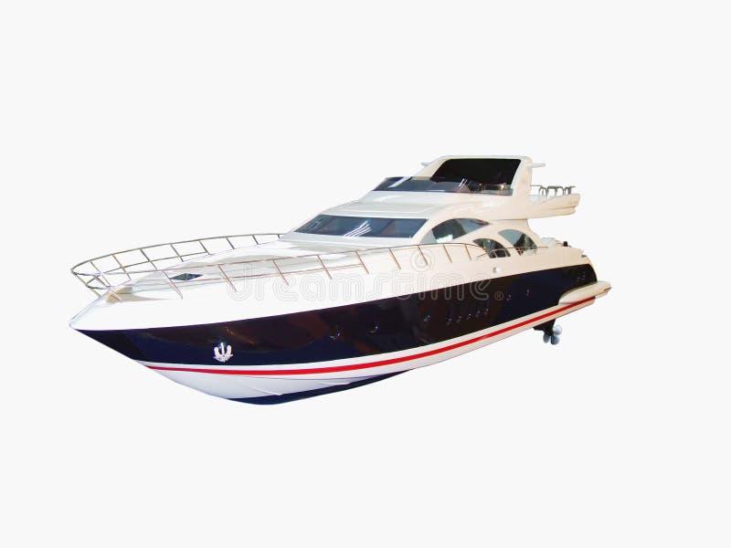 Baumuster einer Yacht stockfotos