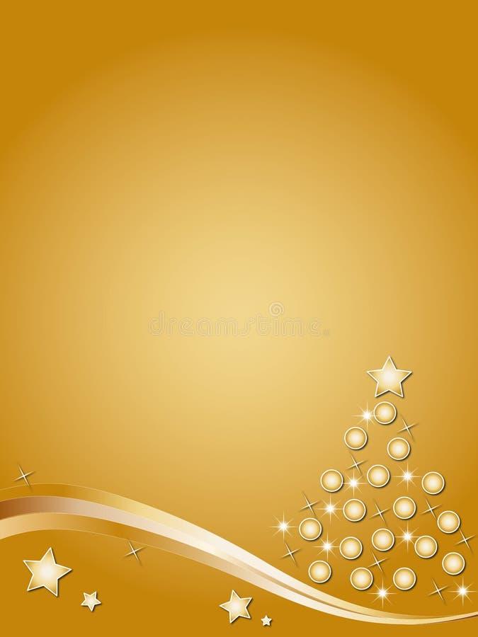 Baumweihnachten stock abbildung