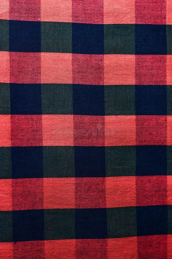 Baumwolle gesponnene Muster lizenzfreies stockfoto