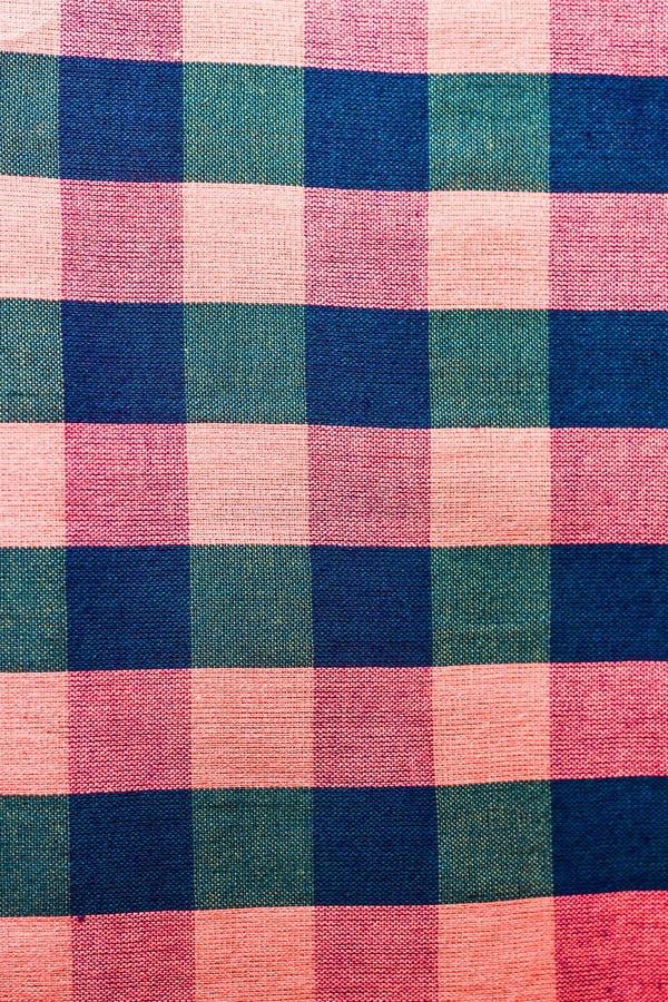 Baumwolle gesponnene Muster stockfotografie