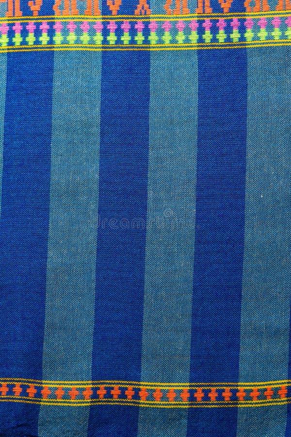 Baumwolle gesponnene Muster lizenzfreie stockbilder