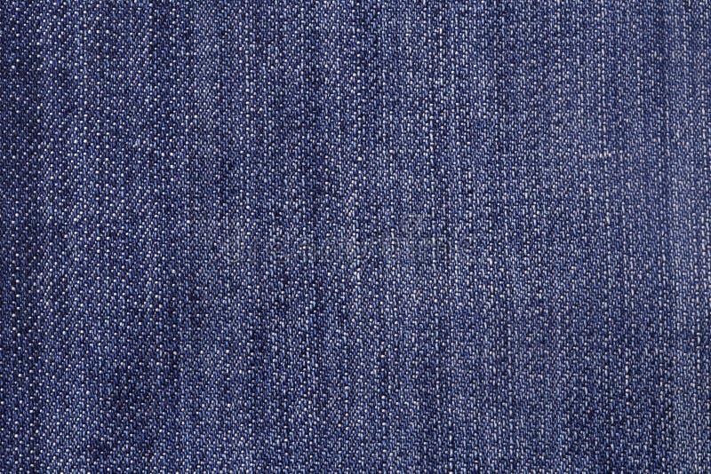 Baumwollgewebe eines Jeansdetails stockfoto