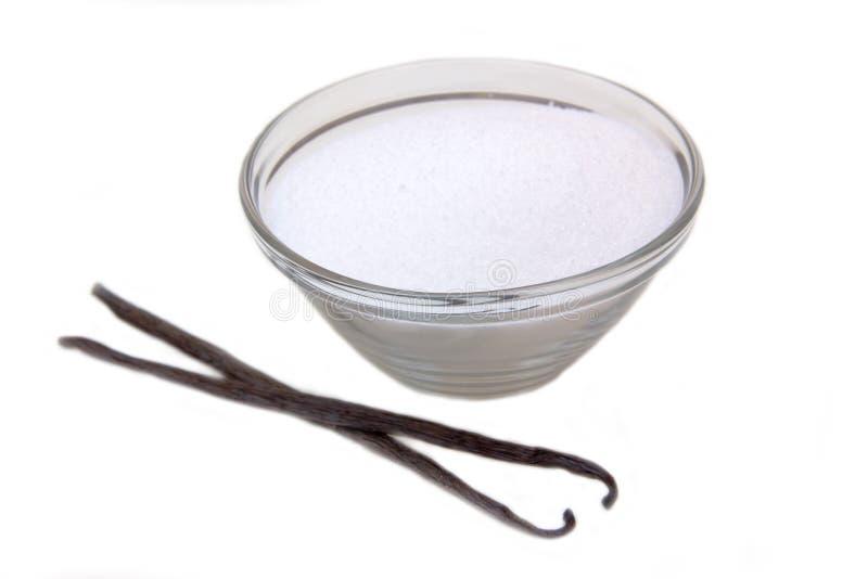 Baunilha do açúcar imagens de stock royalty free
