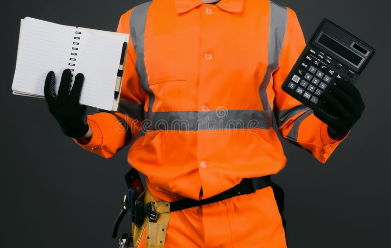 Baurechnung lizenzfreie stockbilder