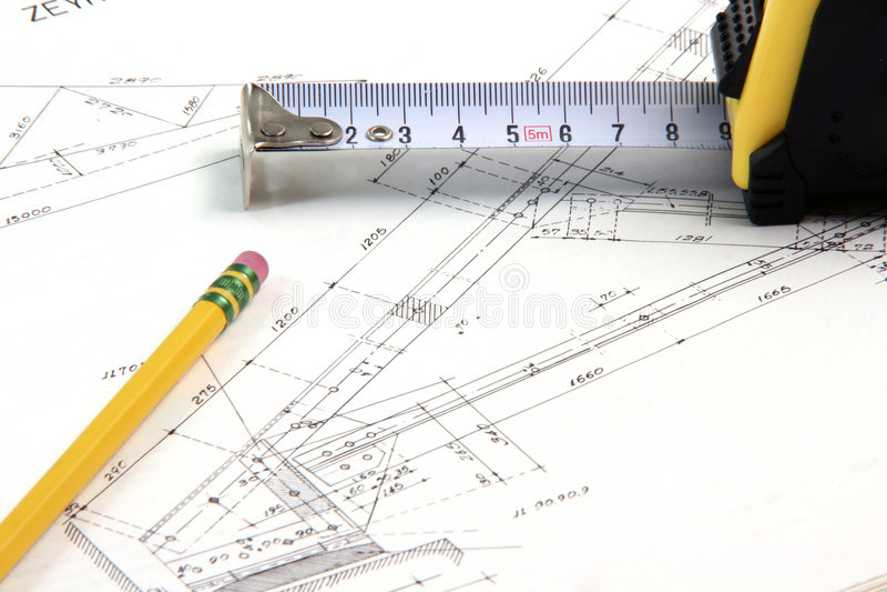 Bausektor stockbild