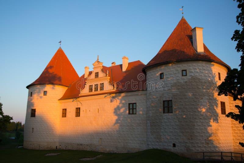 Bauska castle in Bauska. BAUSKA, LATVIA - May 21, 2016. Exterior of the Bauska castle in Bauska, Latvia stock image