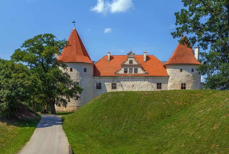 Bauska Castle, Latvia stock images