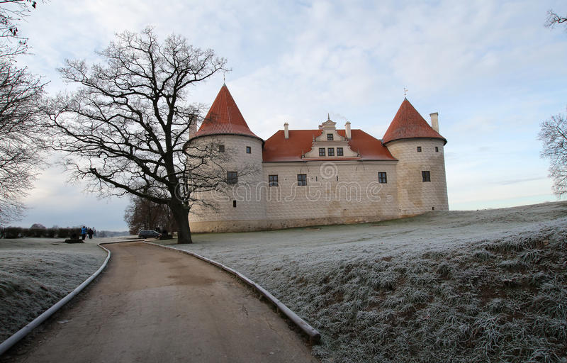 Bauska Castle. The Bauska Castle represents an example of military architecture in the period from 15th to 17th century. Its oldest part is the only Livonian royalty free stock photography
