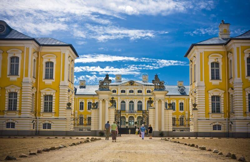 Bauska, Letland, Europa royalty-vrije stock afbeelding