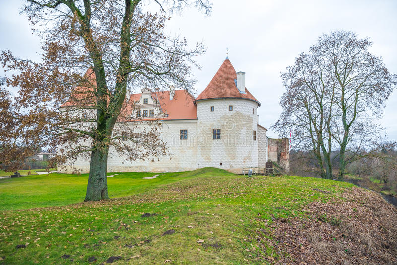 Bauska, old castle. Bauska, old castle in Bauska city, 2014, Latvia royalty free stock images