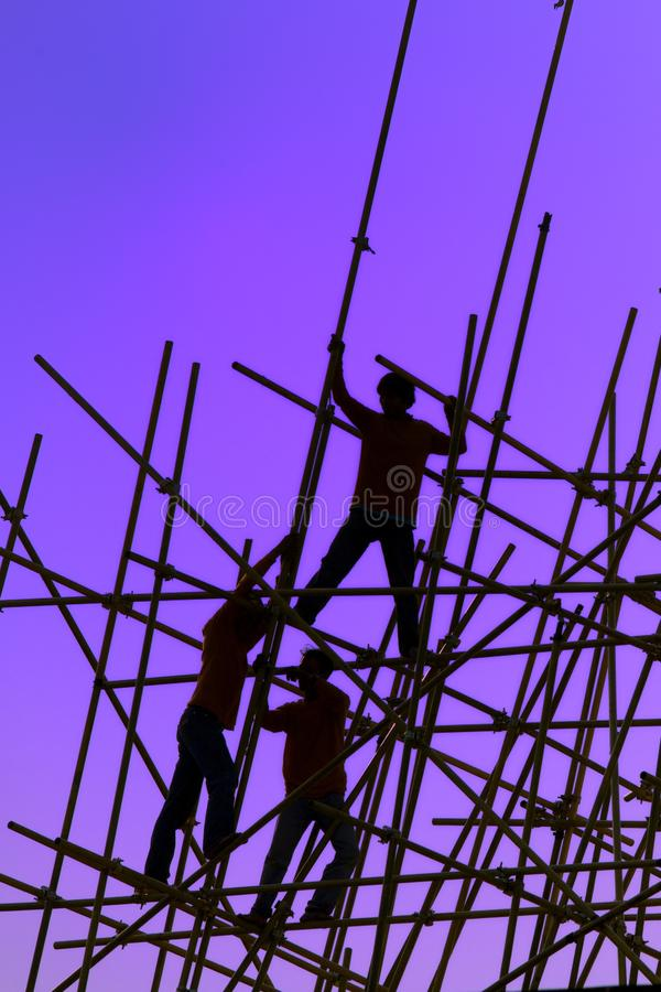 Baustelle stockfotos