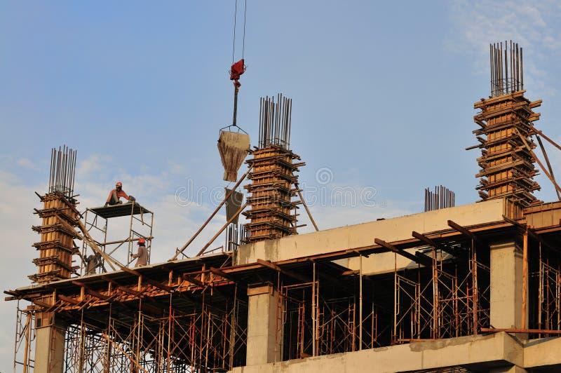 Baustelle-Serie   lizenzfreies stockbild