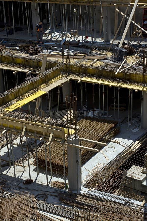 Baustelledetail stockbild