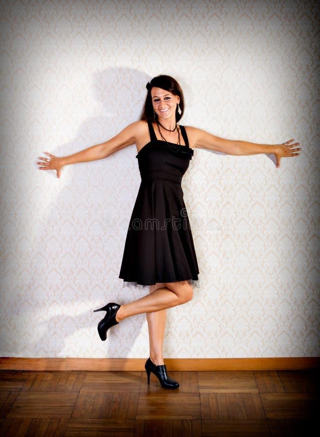 Download Bautiful Fashion Woman Smiling Stock Photo - Image: 26676116